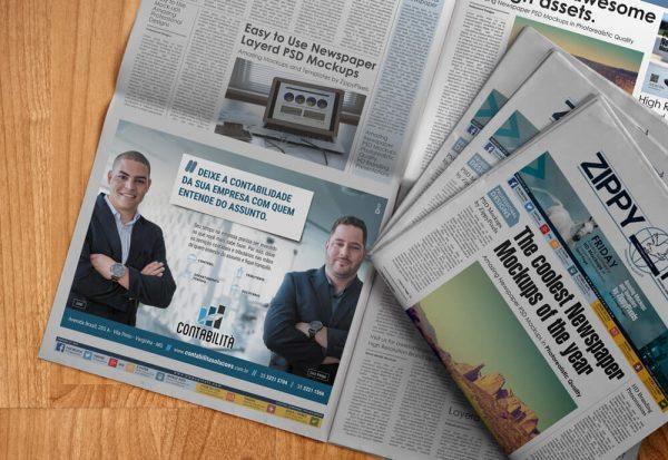 Anúncio Jornal Contabilità