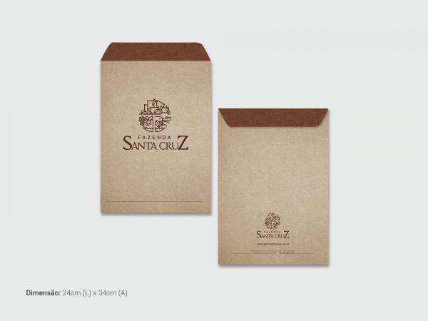 Papelaria Sta Cruz Envelope Saco